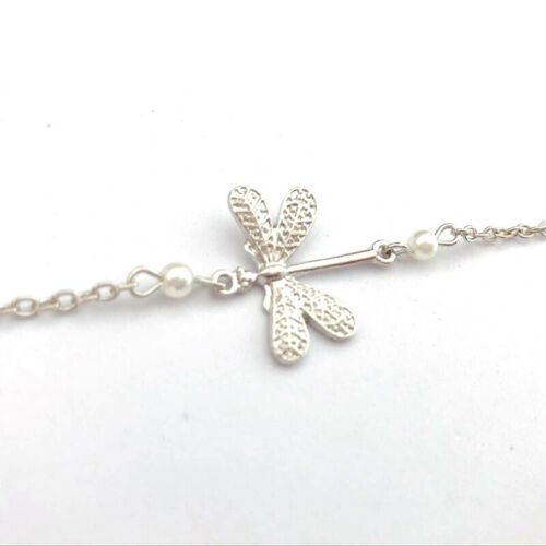 Women Girls Dragonfly Chain Anklet Ankle Bracelet Bare Foot Fashion Jewelry shan