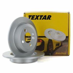 TEXTAR-Bremsscheiben-Satz-fuer-Mini-R50-R53-R56-R52-R57-R55-R58-R59-hinten