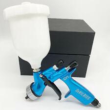Devilbiss Blue Cv1 Hvlp 13mm Nozzle Car Paint Tool Pistol Spray Gun