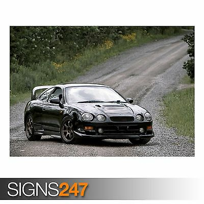 AB109 TOYOTA CELICA GT4 CAR POSTER Photo Picture Poster Print Art A0 to A4