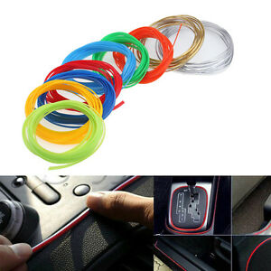 DIY 5M Car interior Decoration Moulding Trim Stylish Strip ...