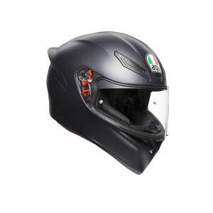 AGV K-1 sportlicher Motorrad Integralhelm in schwarz/matt