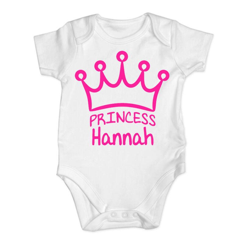 Baby Princess Funny Baby Chaleco Crecer Body Personalizado Regalo De Bebé