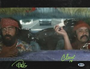 CHEECH-amp-CHONG-SIGNED-11X14-UP-IN-SMOKE-AUTOGRAPH-BECKETT-BAS-COA