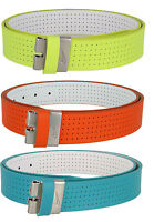 Nike Golf Classic - Perforated Reversible Nappa Leather Belt Strap, 1-1/2 Wide