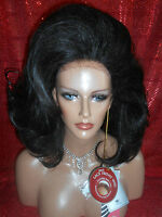 Vegas Girl Wigs Lace Front Sweet Natural Look Farrah Flip Back Look
