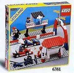LEGO Classic Town Race 6381 Motor Speedway Neuf Scellé Legoland 1987'