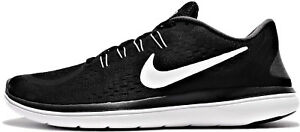 Chaussures-Hommes-Noir-Nike-Baskets-Flex-2017-Rn-Hommes-Black