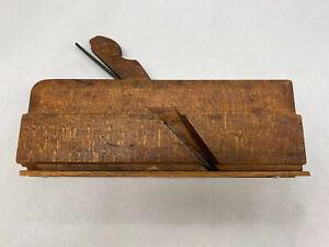 Antique Carpenter's Wood Plane Trim Plane With Blade
