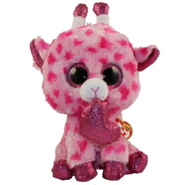 47924697fc3 Ty Beanie Babies 36661 Boos Sweetums The Pink Giraffe Valentine Boo Buddy