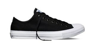 Details about New Converse The Chuck Taylor All Star II Black Canvas Low Men Shoes 150149C