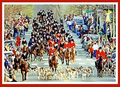 Middleburg Christmas Parade 2021 Craft Show Christmas In Middleburg Virginia Annual Christmas Parade Single Greeting Card Ebay