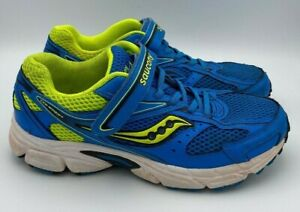 Saucony-Boys-Cohesion-8-Running-Shoes-Sneakers-Blue-Size-7W-US