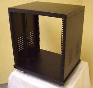 Stahlrack-SR-19-10-HE-ROADINGER-Studiorack-Tischrack-Serverschrank-Stahl-Rack