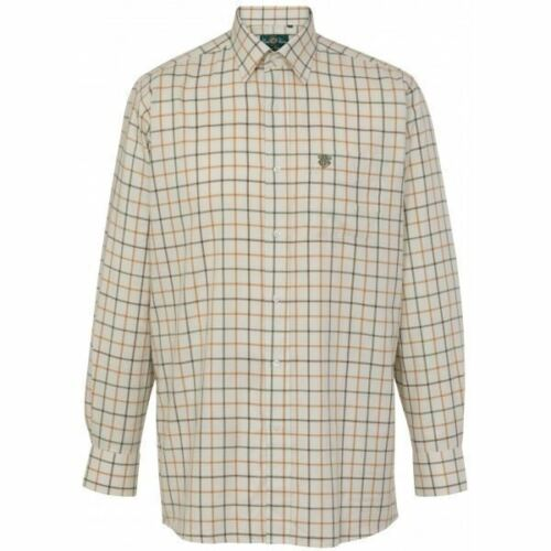Alan Paine Ilkley Mens Shirt Olive