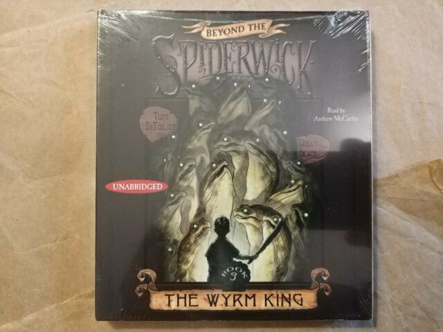 .The Wyrm King,Beyond The Spiderwick Chronicles,CD,NEW,Audiobook,Unabridged,2009