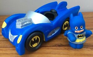 Fisher-Price-Little-People-Talking-Batman-Car-And-Figure-Batmobile