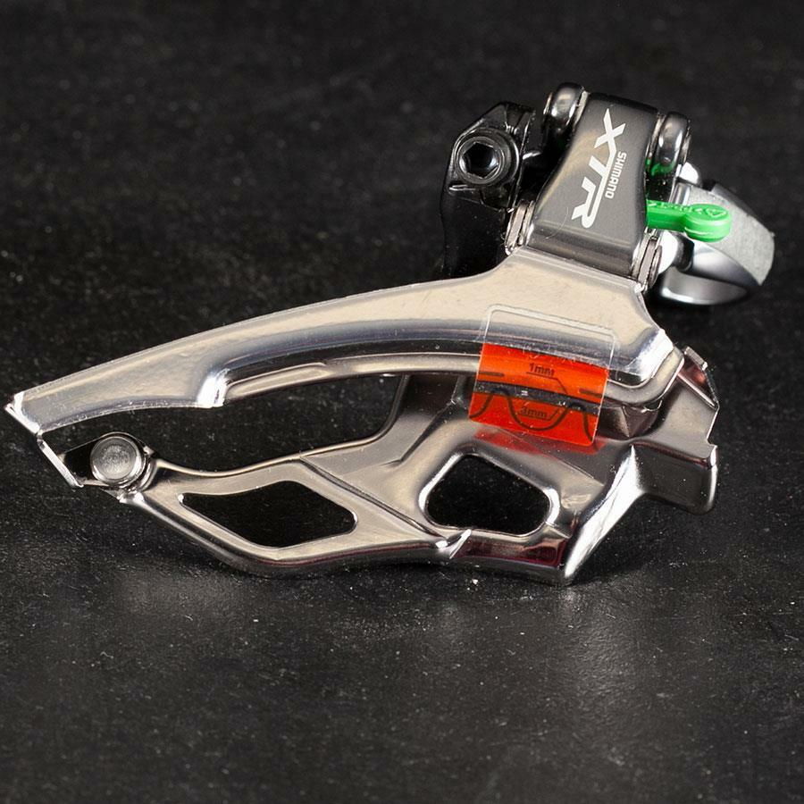 NOS Shimano XTR FD-M961 9 speed Front Derailleur 31.8mm Clamp On