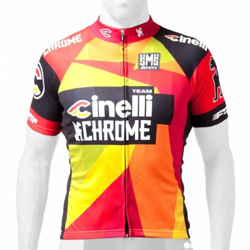 2014 Cinelli Chrome  Special Edition  Cycling Jersey - Made in  by Santini