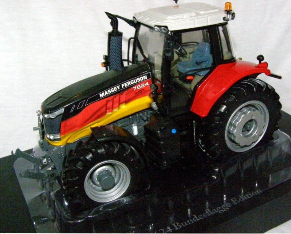 Uh4265-tractor  massey fergusson 7624 bundesflagge edition edited 1000 units  le plus récent