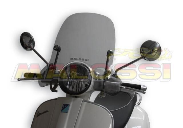 PARE BRISE BULLE SCREEN MALOSSI VESPA Granturismo L - GT 125 200 Réf: 4515118