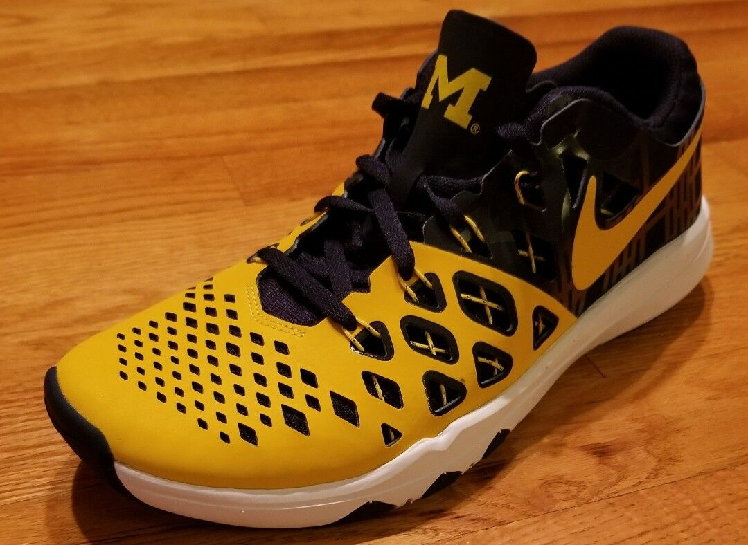 Cheap women's shoes women's shoes  NIKE Train Speed 4 MICHIGAN Wolverines Mens 9 trainer training basketball