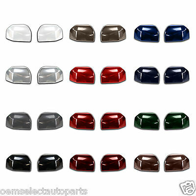 OEM NEW 2007-2010 Ford F-150 PAINTED Trailer Towing Mirror Caps PAIR All Colors