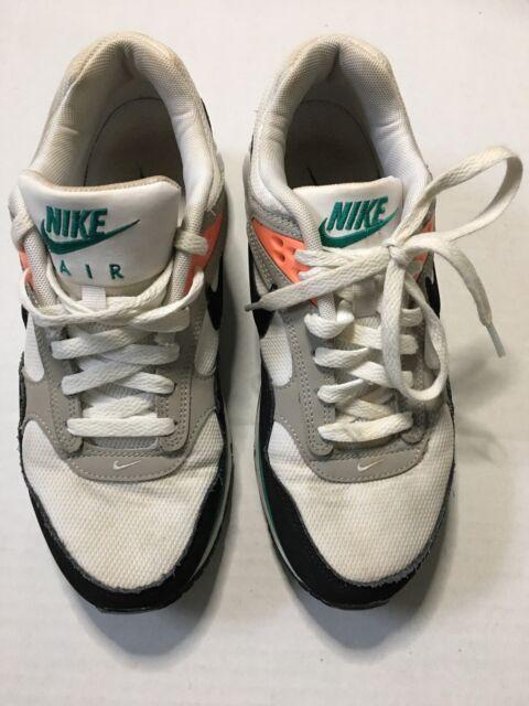 Nike Air Max Correlate Black White Mango Teal Women Size 8.5