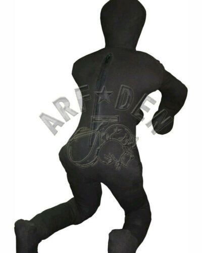 Brazilian jiu jitsu grappling dummy drills striking training MMA canvas//leather