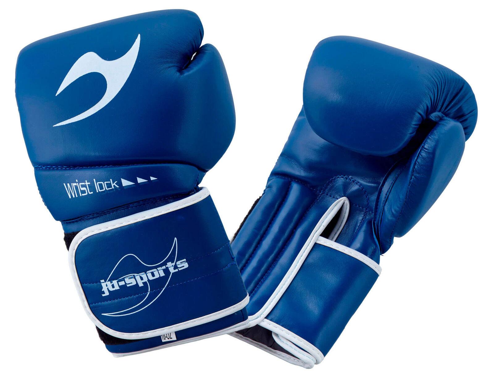 Ju-Sports Boxhandschuh C16 Competitor PU blau 10 oz