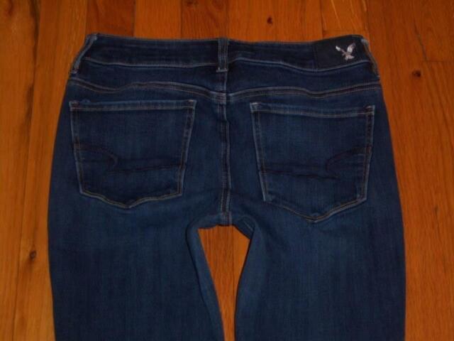 Womens American Eagle Hi Rise Jegging 360 Super Stretch X4 Jeans Size 4 Short S
