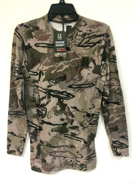 Under Armour Men/'s Tech Hunting Tee Shirt Size M Ridge Reaper Forest Camo New