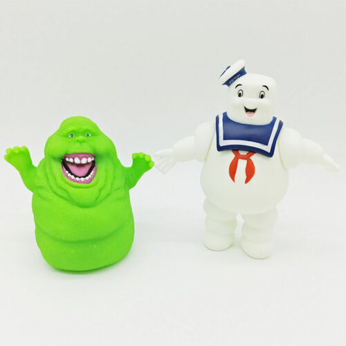 New Ghostbusters Marshmallow Man Slimer Green Ghost Action Figure Toys Xmas Gift