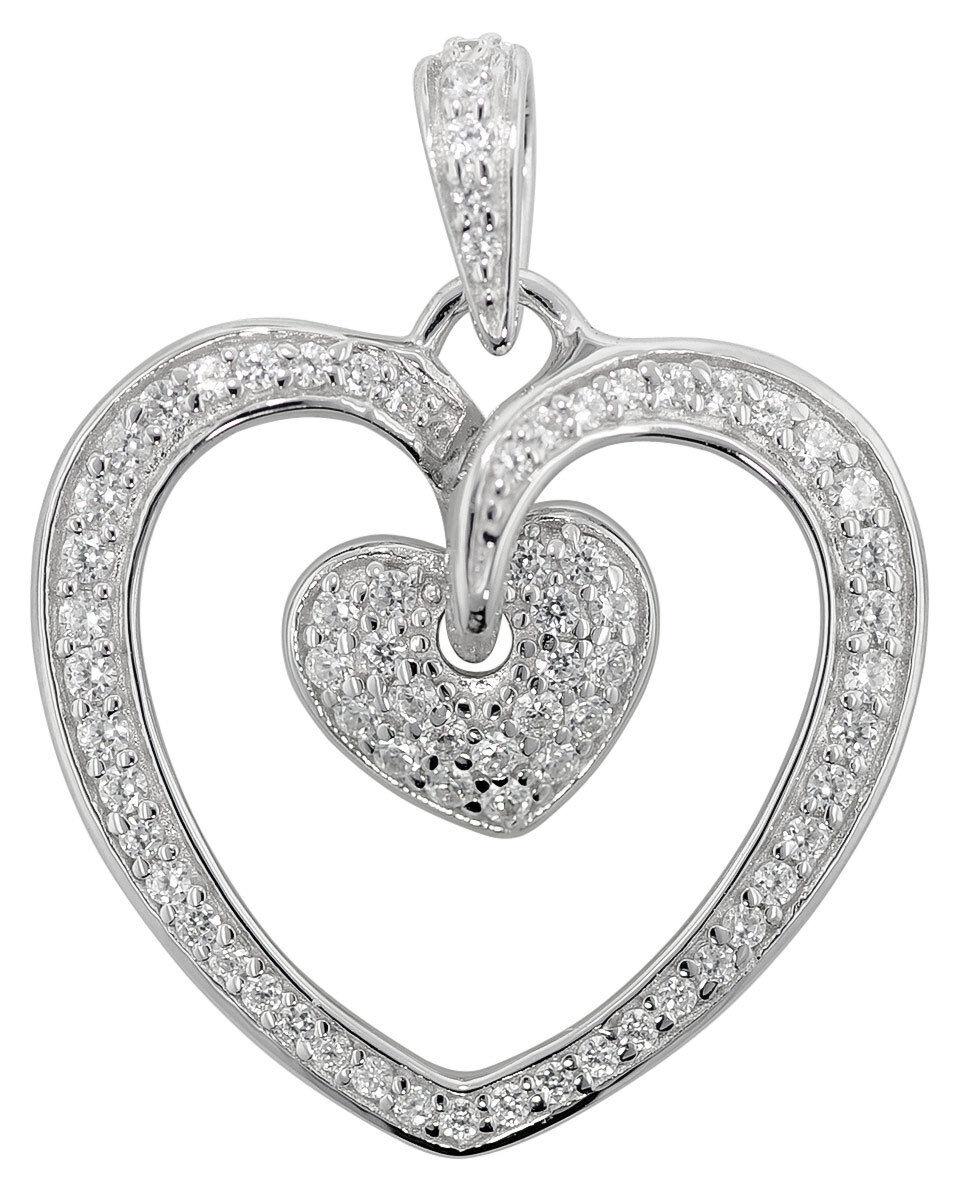 Trendor Accessori in silver Ciondolo a Cuore 80227