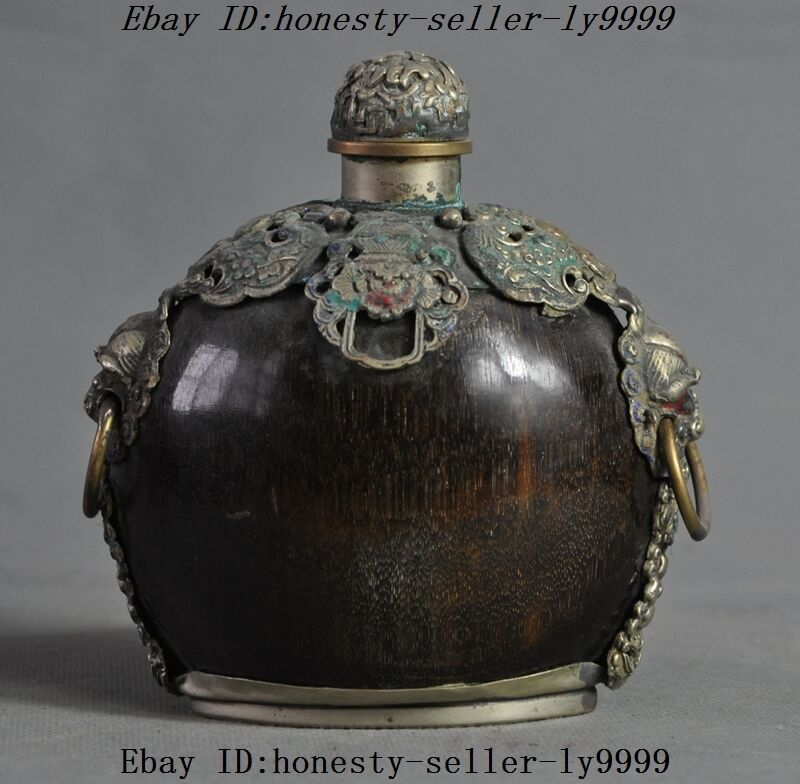 Other Asian Antiques Honesty Rare Jade Snuff Bottle Always Buy Good