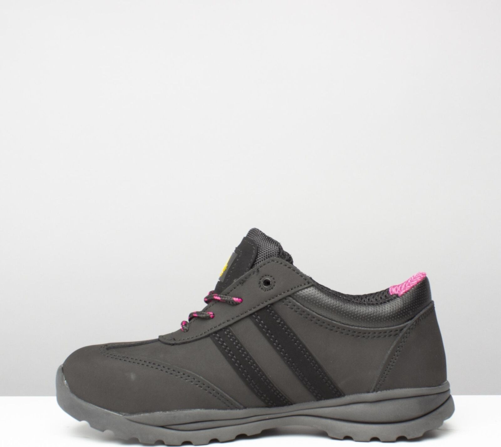 Amblers Safety FS706 SOPHIE SHOE Ladies Ladies Ladies Womens Leather Safety Trainers Black 3a75ab