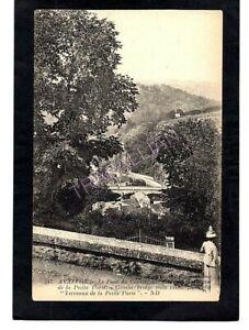 cpa-89-AVALLON-Le-Pont-du-Cousin-vue-prise-des-Terreaux-de-la-petite-Porte