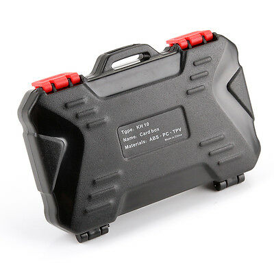 Waterproof Memory Card Storage Carrying Case Protecter Box Holder 4CF 8SD 12MSD
