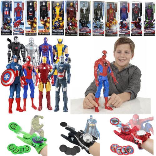 Superheld Spiderman Actionfiguren Figur Figuren Launcher Handschuhe Spielzeuge