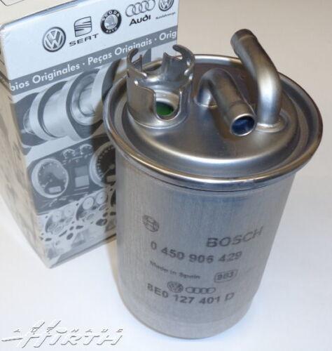 Kraftstofffilter Dieselfilter Filter Original Audi A4 B7 A6 4F 2.0TDI 8E0127435A