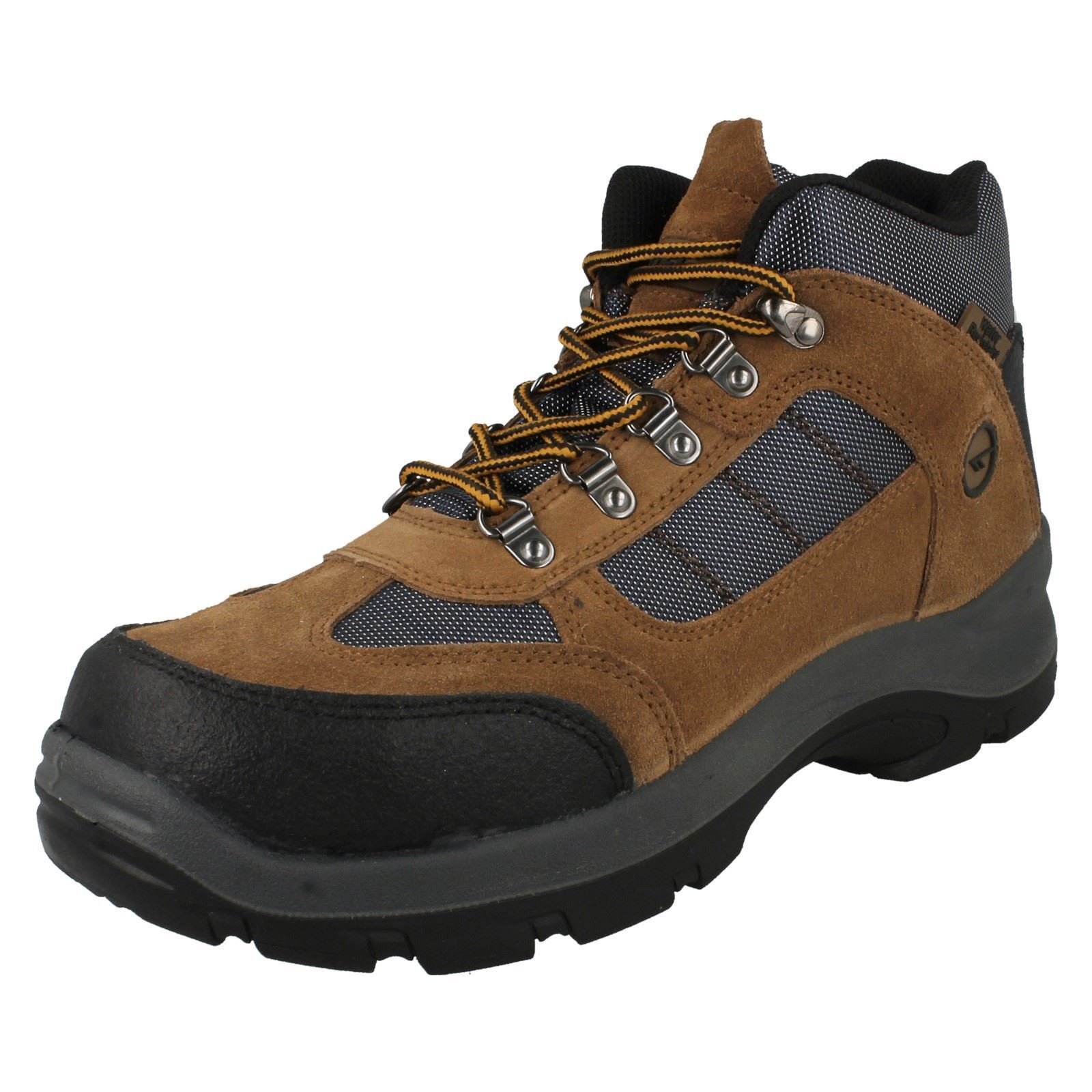 Mens Hi-Tec Casual Safehike Mid Safety Boots