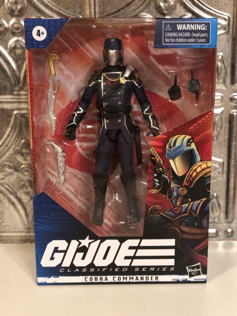 "Hasbro 2020 G.I. Joe Classified Series COBRA COMMANDER 6"" FIGURE - IN HAND!"