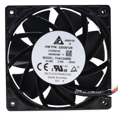 1PC Delta THA1248BE 48V 2.50A 12038 12CM violence aluminum frame cooling fan