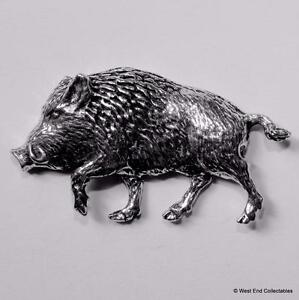 Chargeur Sanglier Étain Broche - Britannique Artisan Made-pig Hunting Sauvage Z4hnmrhn-07213301-881740705