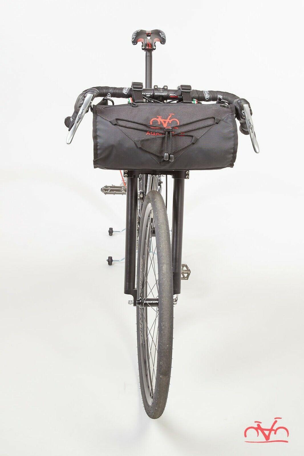 Borsa biciclettapacre uomoubrio Ararat Agar bicicletta 10LT  Nera