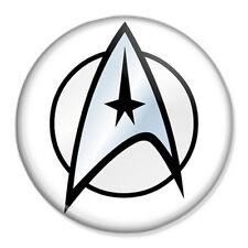 "Star Trek 25mm 1"" Pin Badge Button Logo Insignia Trekkie Novelty"