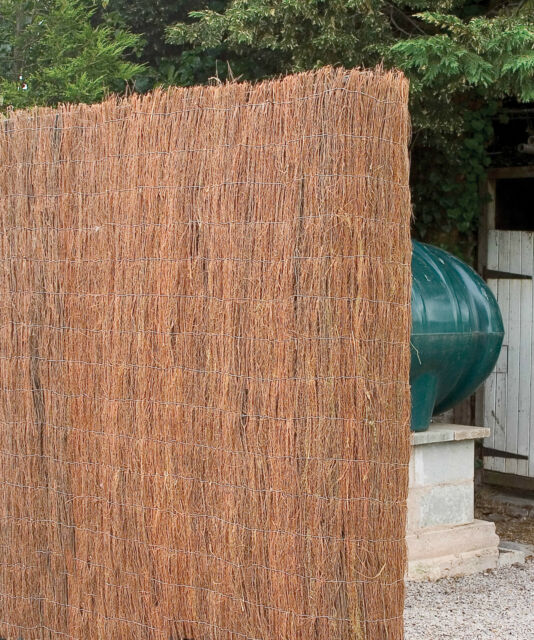 9m x 2m Brushwood Screening / Screen / Garden Fence