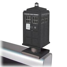 Doctor Who 50th Anniversary TARDIS Black & White Monitor Mate Bobble Head BBC