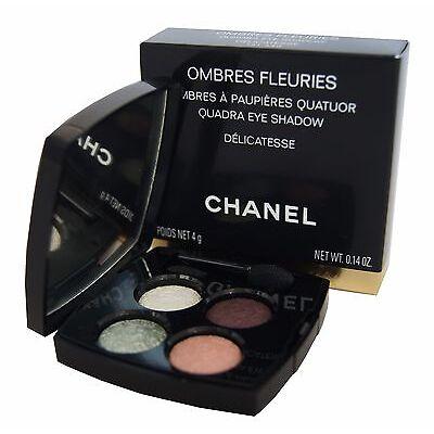 CHANEL OMBRES FLEURIES QUADRA EYE SHADOW Lidschatten 4g. delicatesse