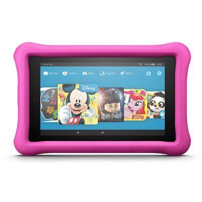 Das neue Fire HD 8 Kids Edition-Tablet, 20,3 cm (8 Zoll) HD Display,Pink 32 GB